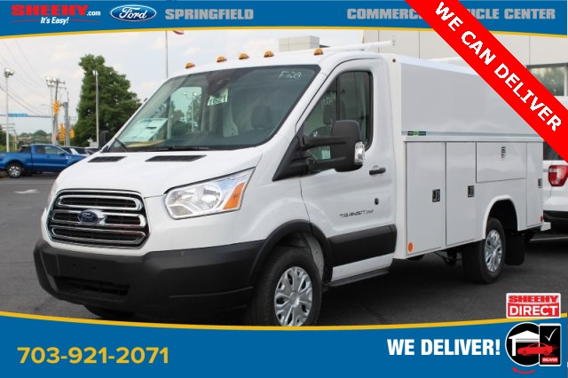 2019 Ford Transit 350 4x2, Reading Aluminum CSV Service Utility Van #GA67103 - photo 3