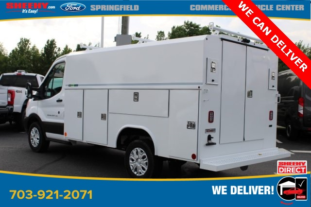 2019 Ford Transit 350 4x2, Reading Aluminum CSV Service Utility Van #GA67103 - photo 4