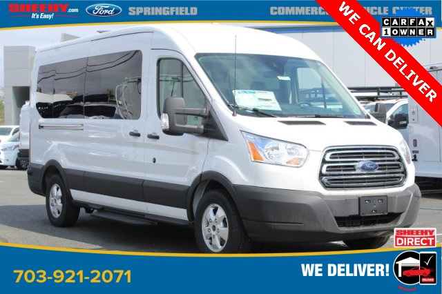 2019 Transit 350 Med Roof 4x2, Passenger Wagon #GA69719 - photo 3