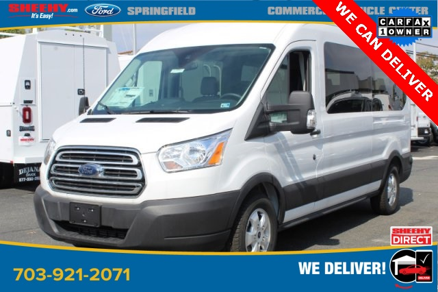 2019 Transit 350 Med Roof 4x2, Passenger Wagon #GA69719 - photo 1