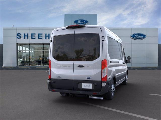 2020 Ford Transit 350 Med Roof AWD, Passenger Wagon #GA88325 - photo 2