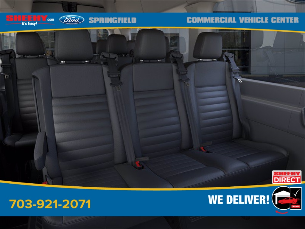 2020 Ford Transit 350 HD High Roof DRW 4x2, Passenger Wagon #GB05773 - photo 11
