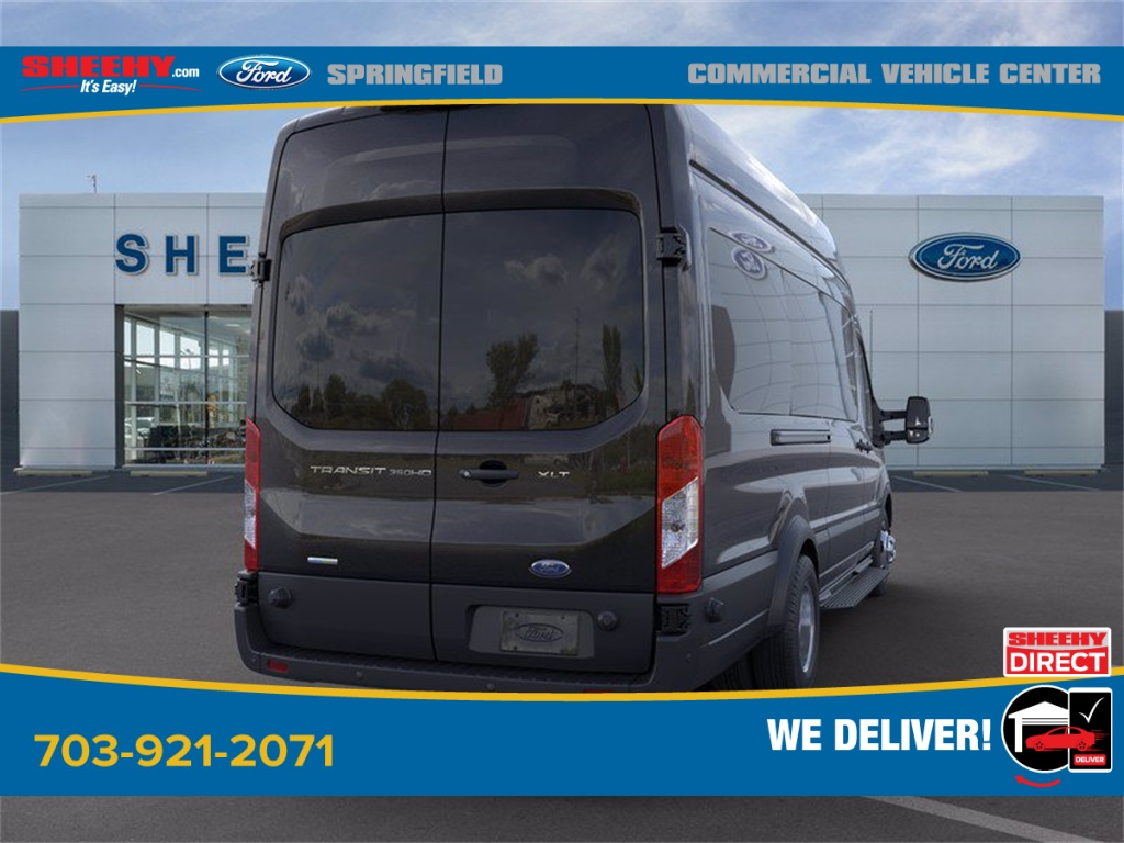 2020 Ford Transit 350 HD High Roof DRW 4x2, Passenger Wagon #GB05773 - photo 2