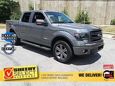 2014 Ford F-150 SuperCrew Cab 4x4, Pickup #GB05780A - photo 2