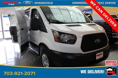 2019 Transit 250 Low Roof 4x2, Weather Guard General Service Upfitted Cargo Van #GB18539 - photo 1