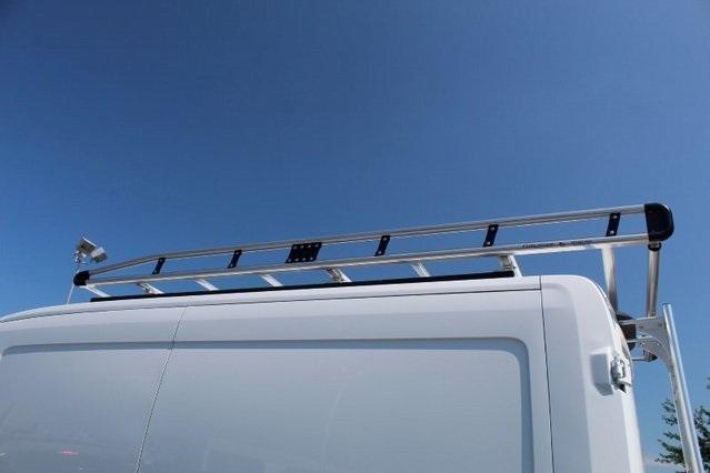 2019 Transit 250 Med Roof 4x2,  Adrian Steel PHVAC Upfitted Cargo Van #GB18541 - photo 7