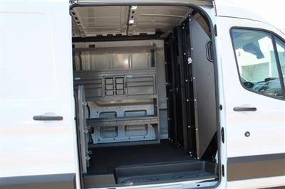 2019 Transit 250 Med Roof 4x2,  Adrian Steel PHVAC Upfitted Cargo Van #GB18541 - photo 10