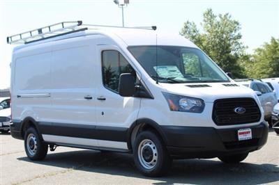 2019 Transit 250 Med Roof 4x2,  Adrian Steel PHVAC Upfitted Cargo Van #GB18541 - photo 1