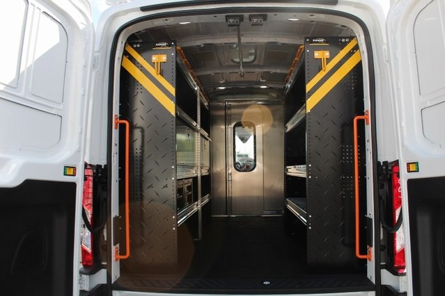 2019 Transit 250 Med Roof 4x2,  Ranger Design Upfitted Cargo Van #GB18542 - photo 1