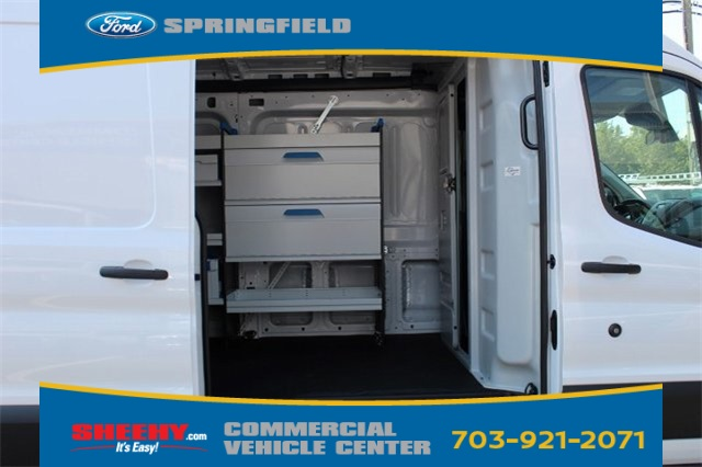 2019 Transit 250 Med Roof 4x2,  Sortimo Shelf Staxx Upfitted Cargo Van #GB18544 - photo 12