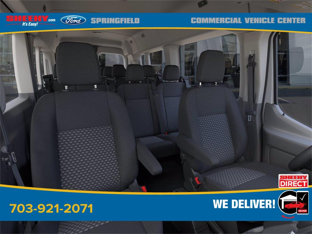 2020 Ford Transit 350 Med Roof 4x2, Passenger Wagon #GB23948 - photo 10