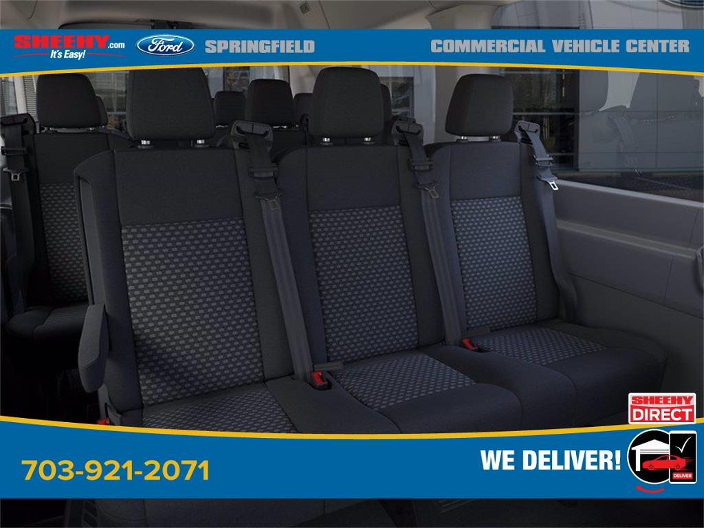 2020 Ford Transit 350 Med Roof 4x2, Passenger Wagon #GB23948 - photo 11