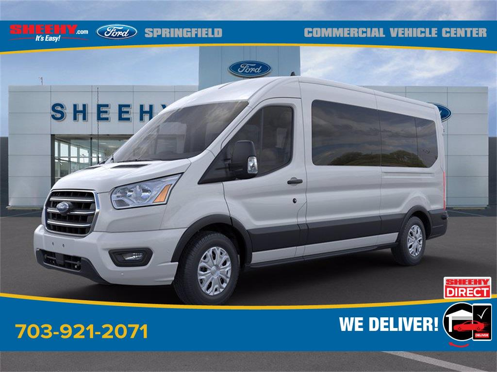 2020 Ford Transit 350 Med Roof 4x2, Passenger Wagon #GB23948 - photo 3