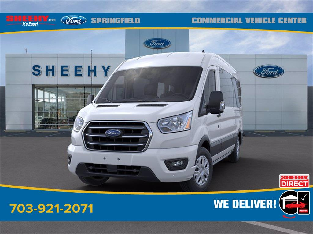 2020 Ford Transit 350 Med Roof 4x2, Passenger Wagon #GB23948 - photo 5