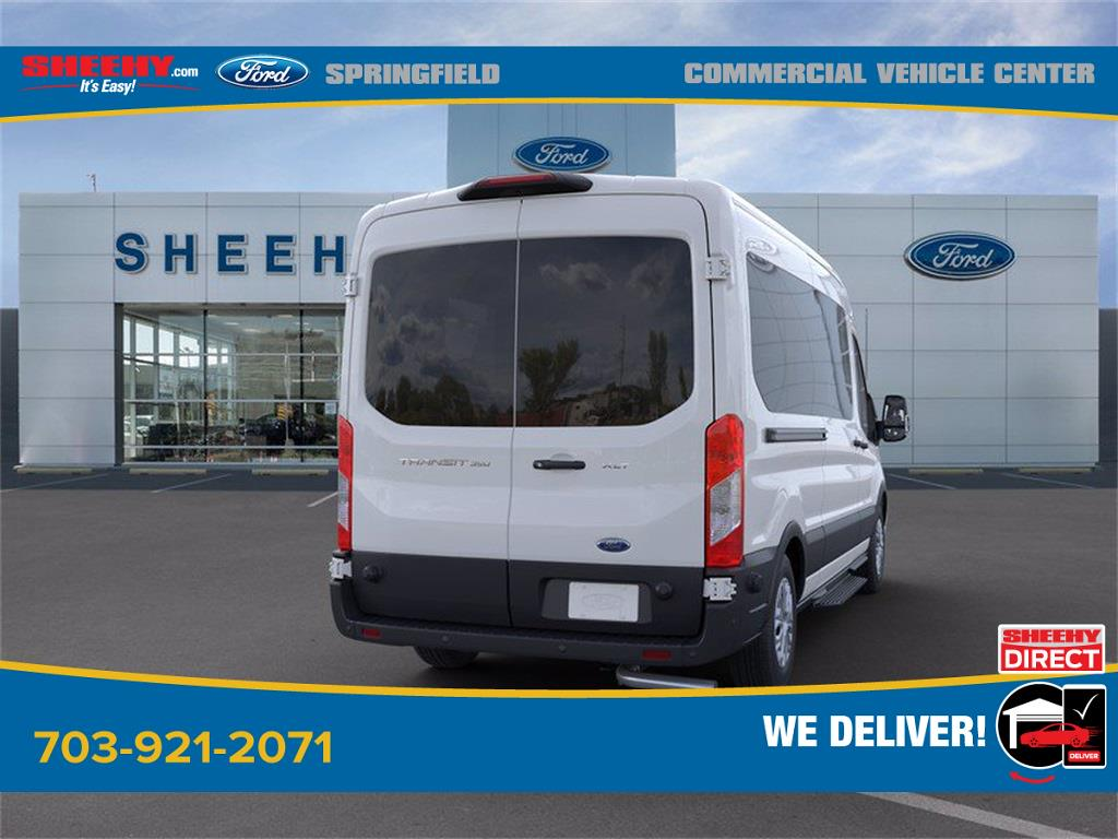 2020 Ford Transit 350 Med Roof 4x2, Passenger Wagon #GB23948 - photo 8