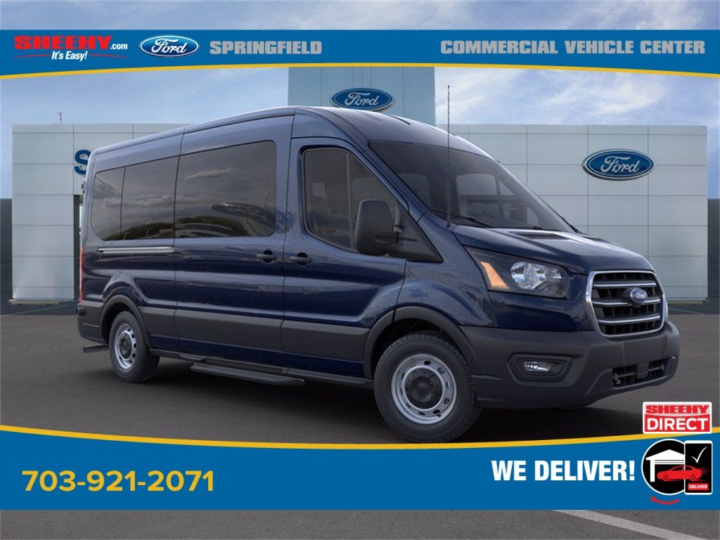 2020 Ford Transit 350 Med Roof 4x2, Passenger Wagon #GB33608 - photo 1