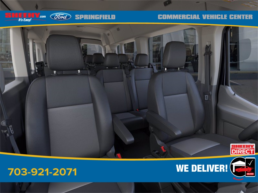 2020 Ford Transit 350 Med Roof 4x2, Passenger Wagon #GB33608 - photo 10