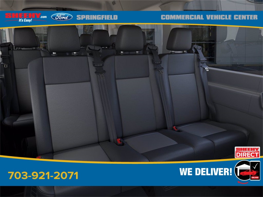 2020 Ford Transit 350 Med Roof 4x2, Passenger Wagon #GB33608 - photo 11