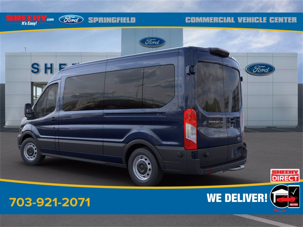 2020 Ford Transit 350 Med Roof 4x2, Passenger Wagon #GB33608 - photo 7