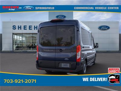 2020 Ford Transit 350 Med Roof 4x2, Passenger Wagon #GB33608 - photo 2