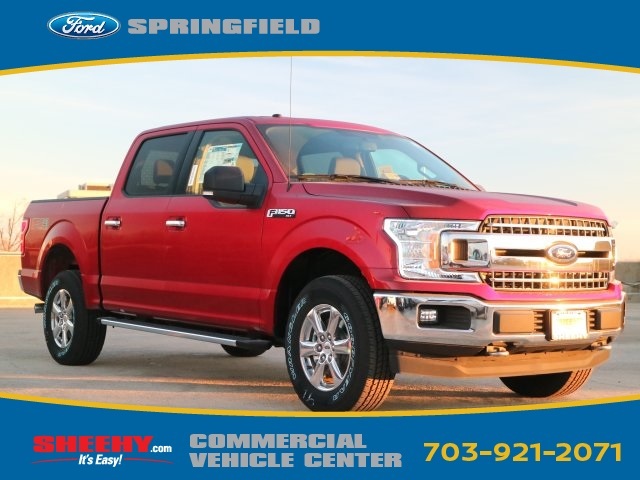 2018 F-150 SuperCrew Cab 4x4, Pickup #GB40047 - photo 1