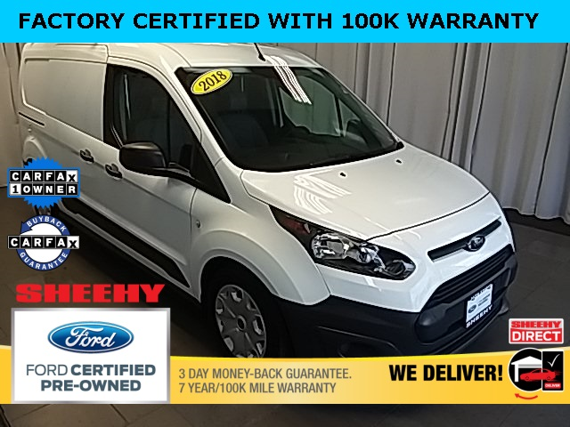 2018 Ford Transit Connect 4x2, Empty Cargo Van #GB41250B - photo 1