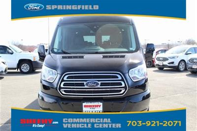 2018 Transit 250 Med Roof 4x2,  Passenger Wagon #GB43608 - photo 3