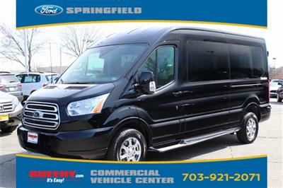 2018 Transit 250 Med Roof 4x2,  Passenger Wagon #GB43608 - photo 4