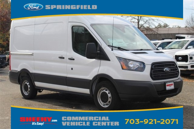 2018 Transit 150 Med Roof 4x2,  Empty Cargo Van #GB45370 - photo 3