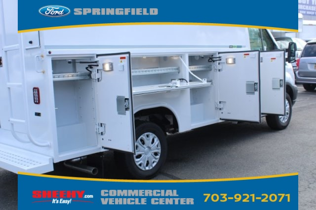 2019 Transit 350 4x2,  Reading Aluminum CSV Service Utility Van #GB57560 - photo 5