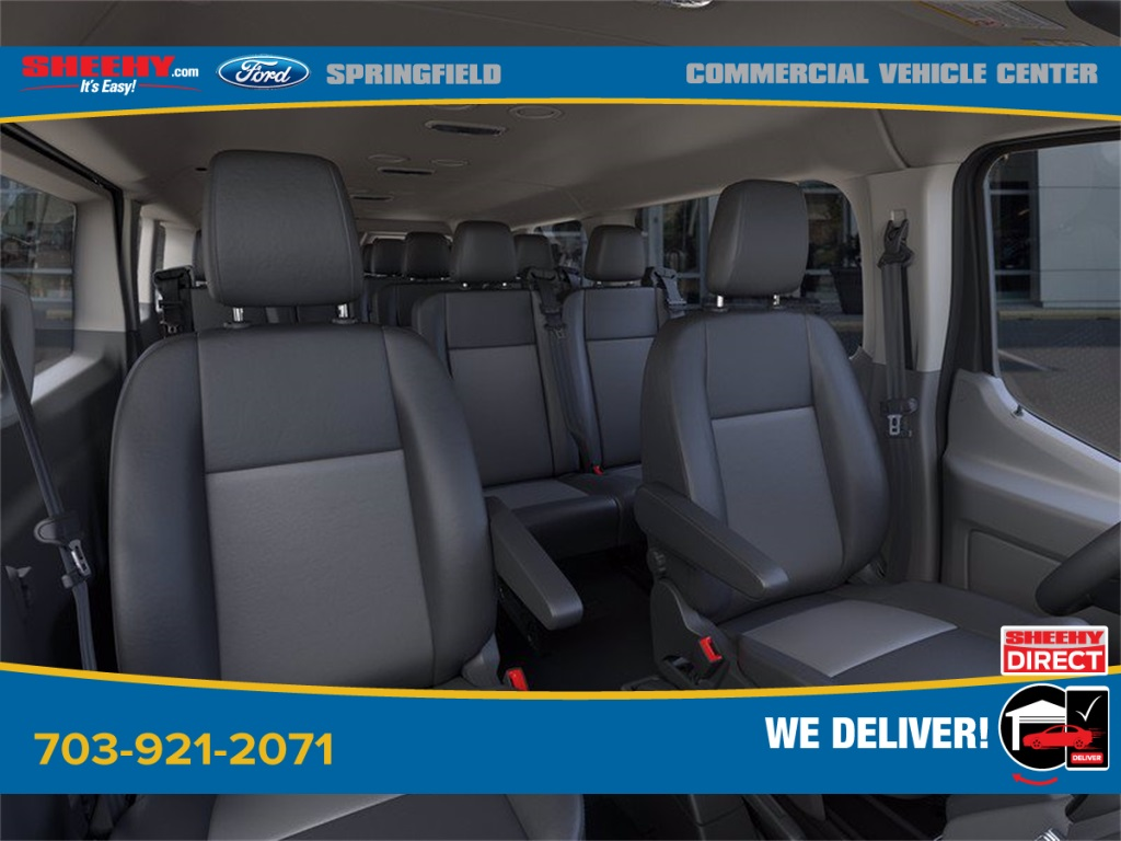 2020 Ford Transit 350 Low Roof 4x2, Passenger Wagon #GB58540 - photo 10