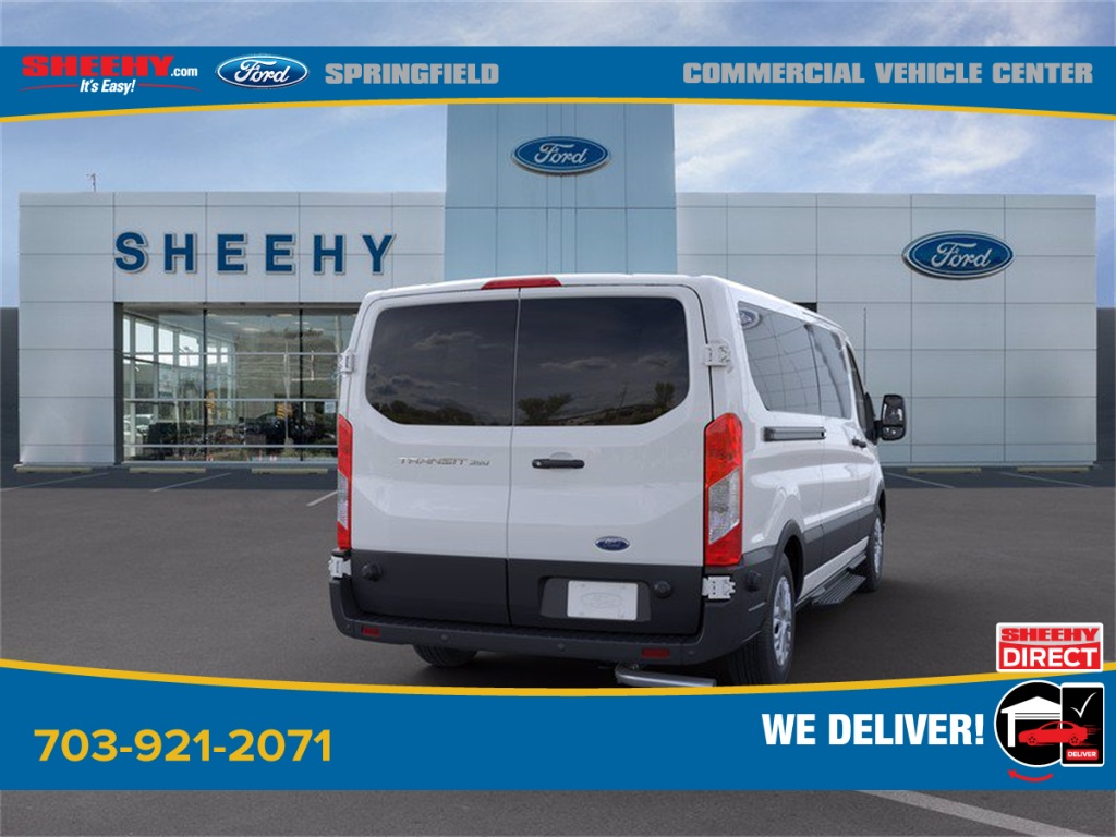 2020 Ford Transit 350 Low Roof 4x2, Passenger Wagon #GB58540 - photo 2
