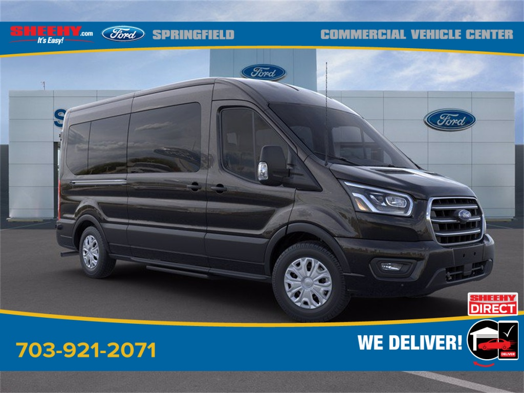 2020 Ford Transit 350 Med Roof 4x2, Passenger Wagon #GB58541 - photo 1