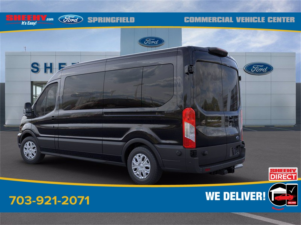 2020 Ford Transit 350 Med Roof 4x2, Passenger Wagon #GB58541 - photo 7