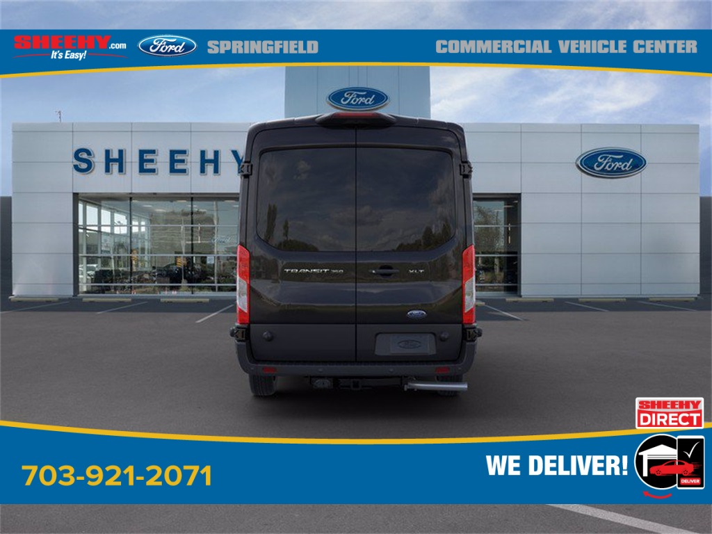 2020 Ford Transit 350 Med Roof 4x2, Passenger Wagon #GB58541 - photo 8