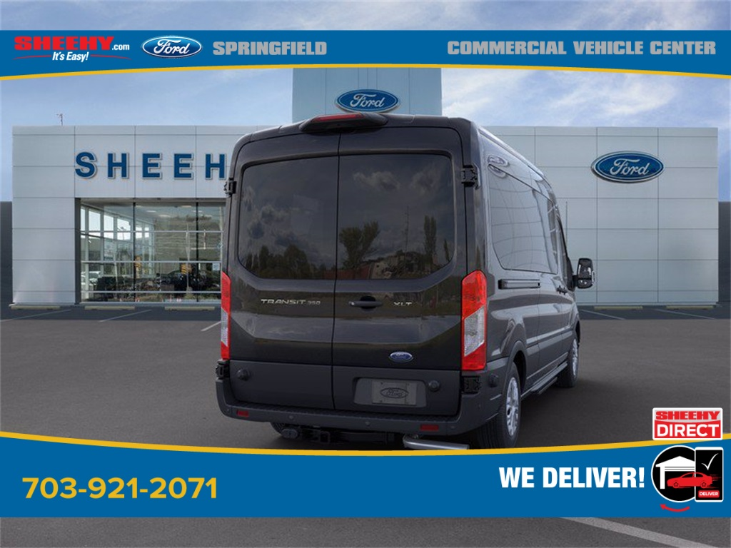 2020 Ford Transit 350 Med Roof 4x2, Passenger Wagon #GB58541 - photo 2