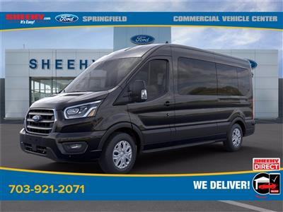 2020 Ford Transit 350 Med Roof 4x2, Passenger Wagon #GB58541 - photo 4