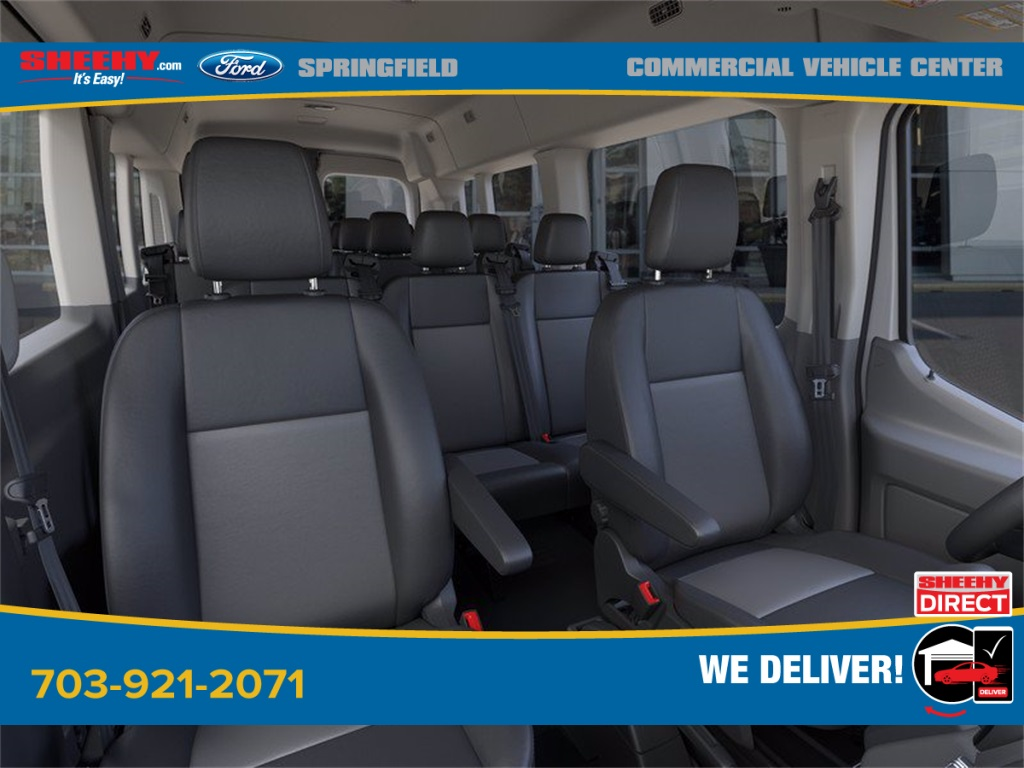 2020 Ford Transit 350 Med Roof 4x2, Passenger Wagon #GB65870 - photo 10