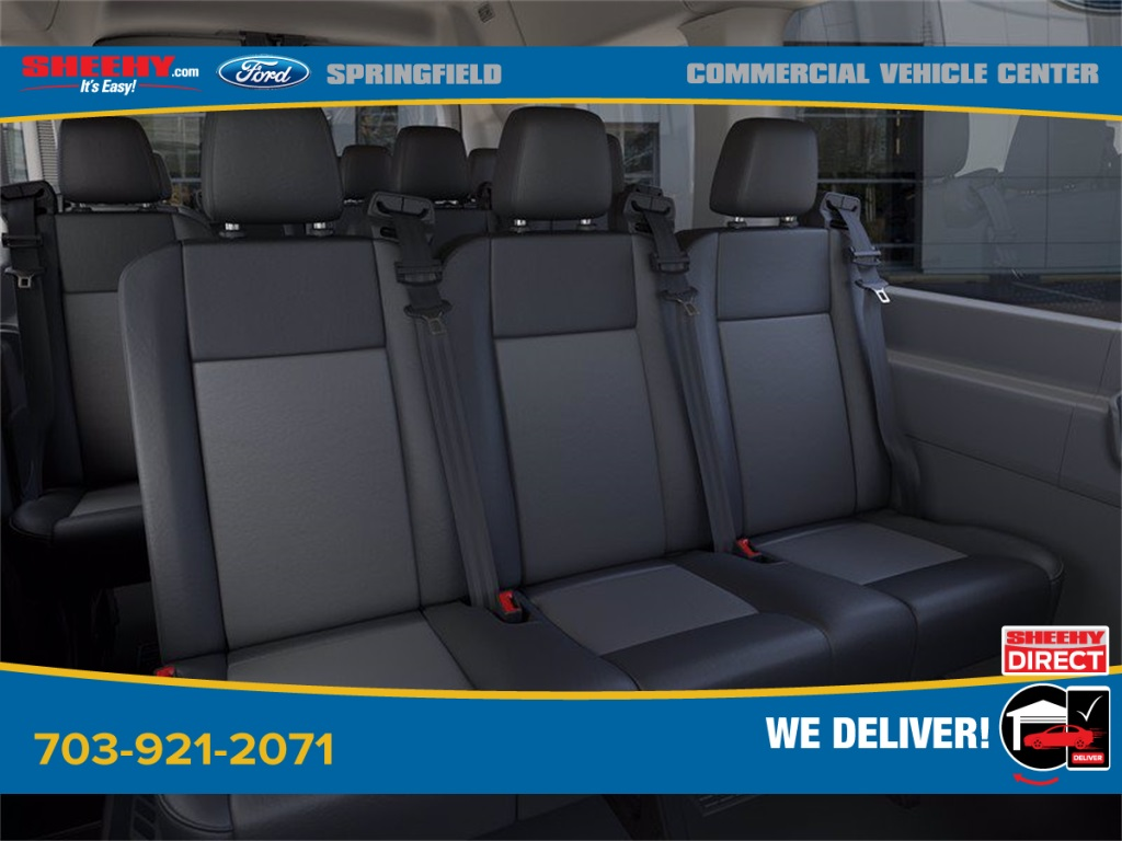2020 Ford Transit 350 Med Roof 4x2, Passenger Wagon #GB65870 - photo 11