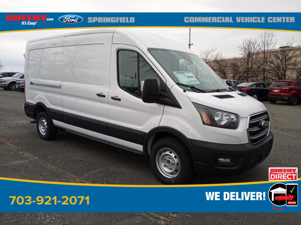 2020 Ford Transit 150 Med Roof 4x2, Empty Cargo Van #GB71064 - photo 1
