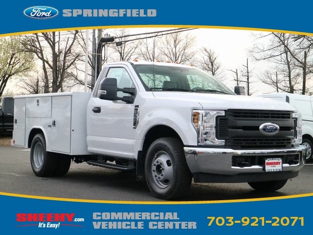 2018 F-350 Regular Cab DRW 4x2,  Reading Service Body #GB92879 - photo 3