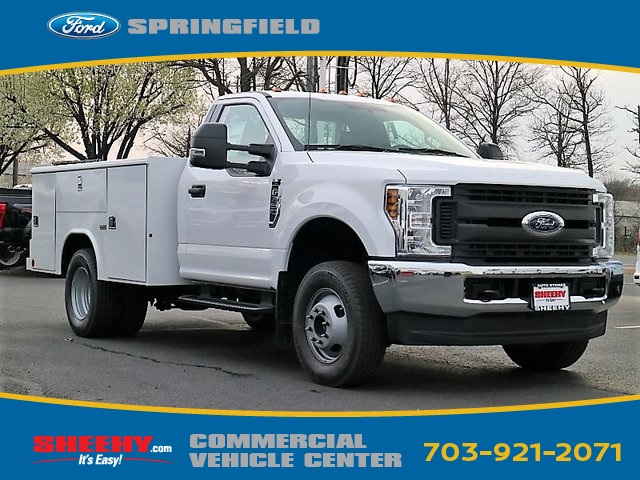 2018 F-350 Regular Cab DRW 4x4,  Reading Service Body #GB92882 - photo 3
