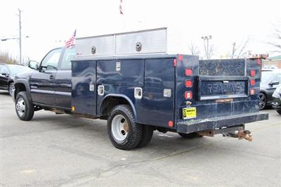 2005 Sierra 3500 4x4, Reading Service Body #GC13634A - photo 4