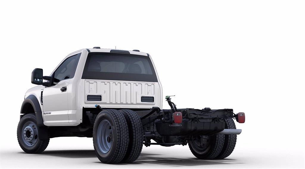 2021 Ford F-550 Regular Cab DRW 4x2, PJ's Stake Bed #GC14340 - photo 1