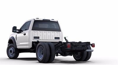 2021 F-550 Regular Cab DRW 4x2,  PJ's Truck Bodies Stake Bed #GC14340 - photo 2