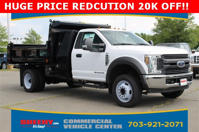 2018 F-550 Regular Cab DRW 4x2,  Rugby Eliminator LP Steel Dump Body #GC21288 - photo 1