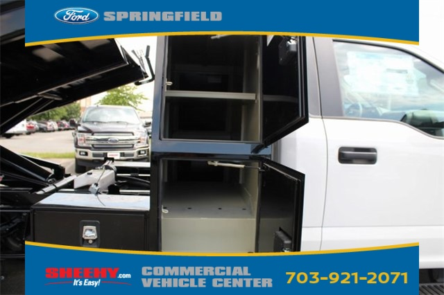 2018 F-550 Regular Cab DRW 4x2,  Rugby Eliminator LP Steel Dump Body #GC21288 - photo 8