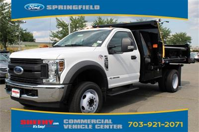2018 F-550 Regular Cab DRW 4x2,  Rugby Eliminator LP Steel Dump Body #GC21288 - photo 4