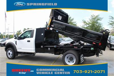 2018 F-550 Regular Cab DRW 4x2,  Rugby Eliminator LP Steel Dump Body #GC21288 - photo 5