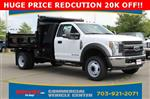 2018 F-550 Regular Cab DRW 4x2,  Rugby Dump Body #GC21288 - photo 1
